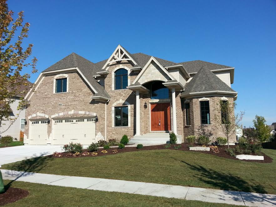 Model homes in naperville illinois